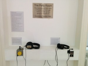 Photo of Listening Station.
